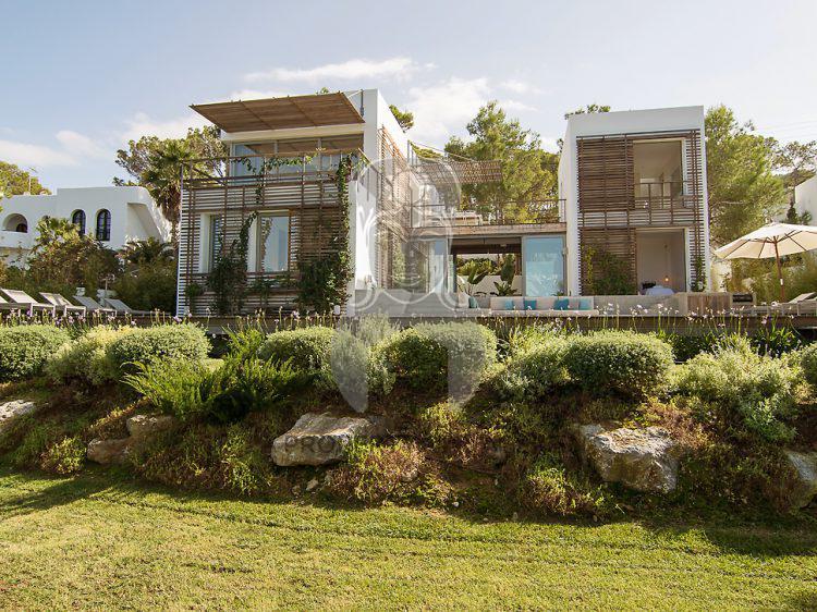 View of villa